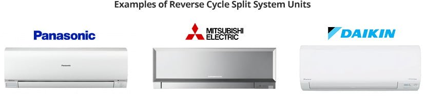 reverse cycle split system units
